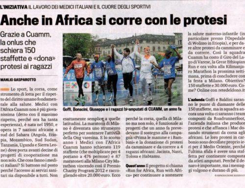 Anche in Africa si corre con le protesi