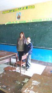 Marco Moran en la escuela